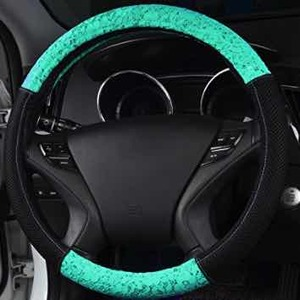 Delray Lace and Spacer Mesh Steering Wheel Cover