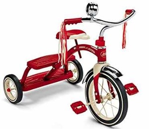 Radio Flyer Classic Red Dual Deck Tricycle Ride On